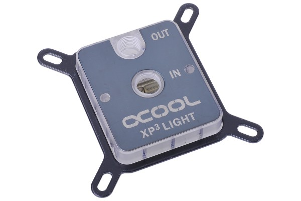 Alphacool NexXxoS XP³ Light - Plexi Nickel - Intel/AMD