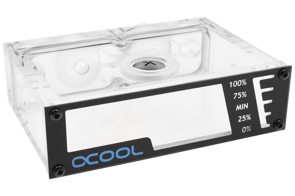 Alphacool Repack - Dual DC-LT - 5,25 Single Bay Station - ohne Pumpe