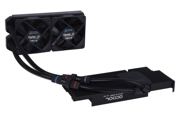 Alphacool Eiswolf 240 GPX Pro Nvidia Geforce RTX 2080 - Black M04