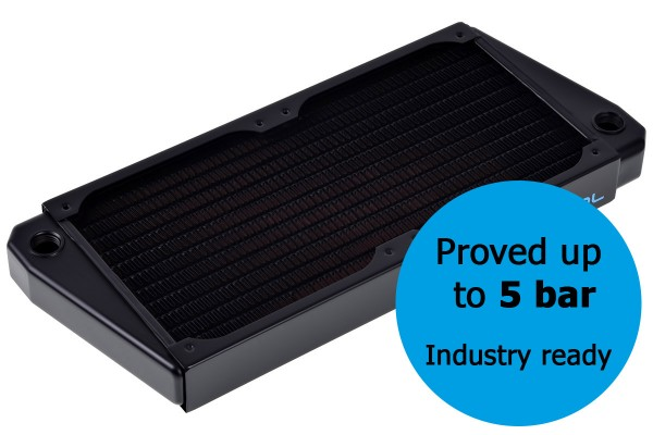 Alphacool NexXxos ST30 Industry HPC Series X-Flow 240mm Radiator