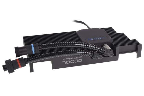 Alphacool Eiswolf GPX Pro - Nvidia Geforce GTX 1080 Pro M03 - mit Backplate