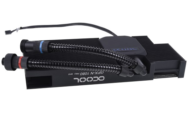 Alphacool Eiswolf GPX Pro - Nvidia Geforce GTX 1080 Pro M15 - mit Backplate