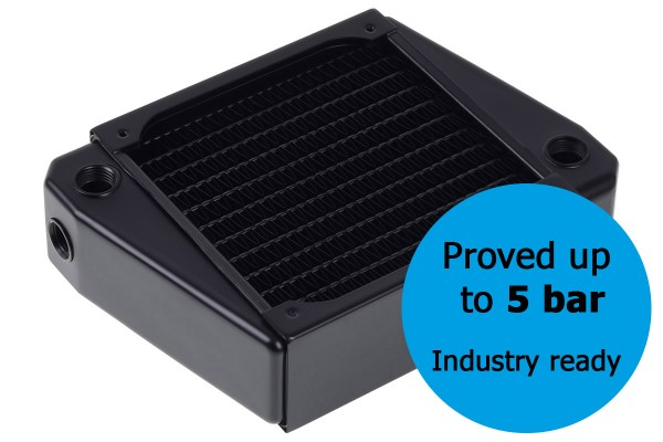 Alphacool NexXxos XT45 Industry HPC Series X-Flow 120mm Radiator