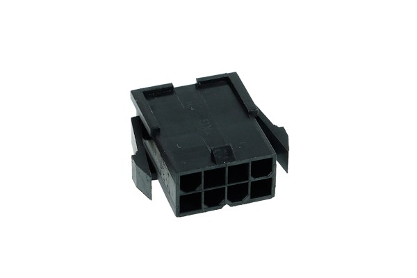 Phobya ATX Power Connector 8Pin Buchse inkl. 8 Pins - Black