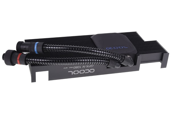 Alphacool Eiswolf GPX Pro - Nvidia Geforce GTX 1080 Pro M10 - mit Backplate