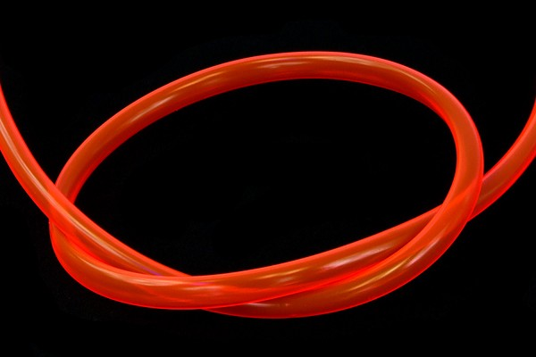 "Schlauch PVC 11/8mm (5/16""ID) UV-aktiv Red"
