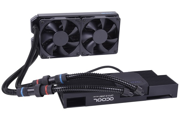 Alphacool Eiswolf 240 GPX Pro Nvidia Geforce RTX 2080 - Black M01