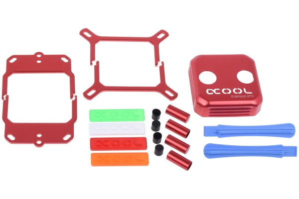 Alphacool Eisblock XPX CPU Modding Kit - Rot