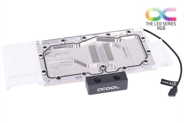 Alphacool Eisblock GPX-N Plexi Light Nvidia Geforce RTX 2080Ti M01