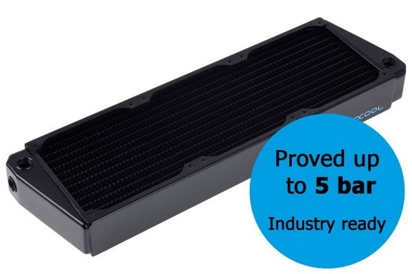 Alphacool NexXxos XT45 Industry HPC Series X-Flow 360mm Radiator