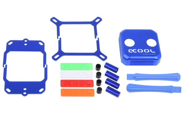 Alphacool Eisblock XPX CPU Modding Kit - Blau
