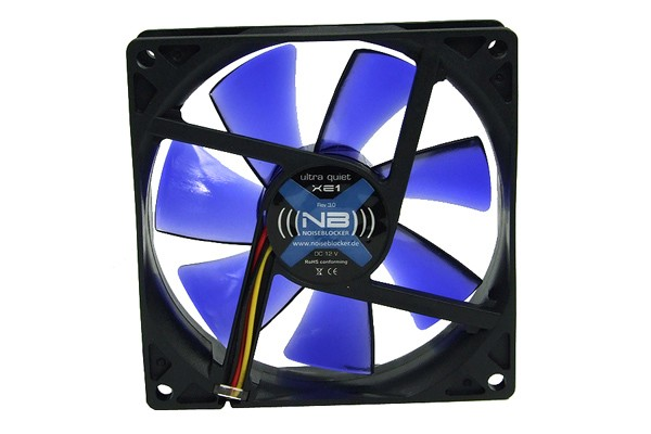 Noiseblocker NB-BlacksilentFan XE1 Rev. 3.00 ( 92x92x25mm )