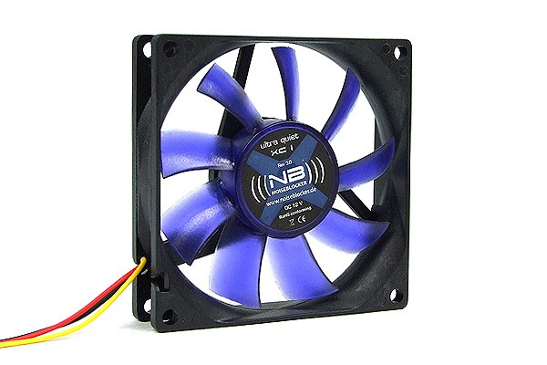 Noiseblocker NB-BlacksilentFan XC1 ( 80x80x20mm )