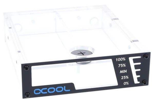 "Alphacool Repack Single Bayres 5,25"" Clear"