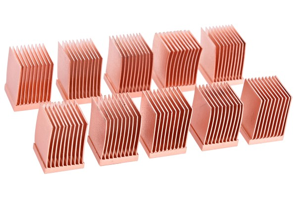 Alphacool GPU RAM Copper Heatsinks 10x10mm - 10 Stk.